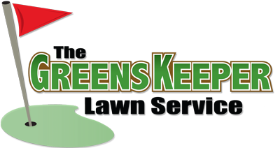The Greens Keeper Lawn Service Logo